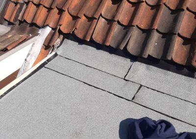 Dakbeschot en dakleer vervangen Delft